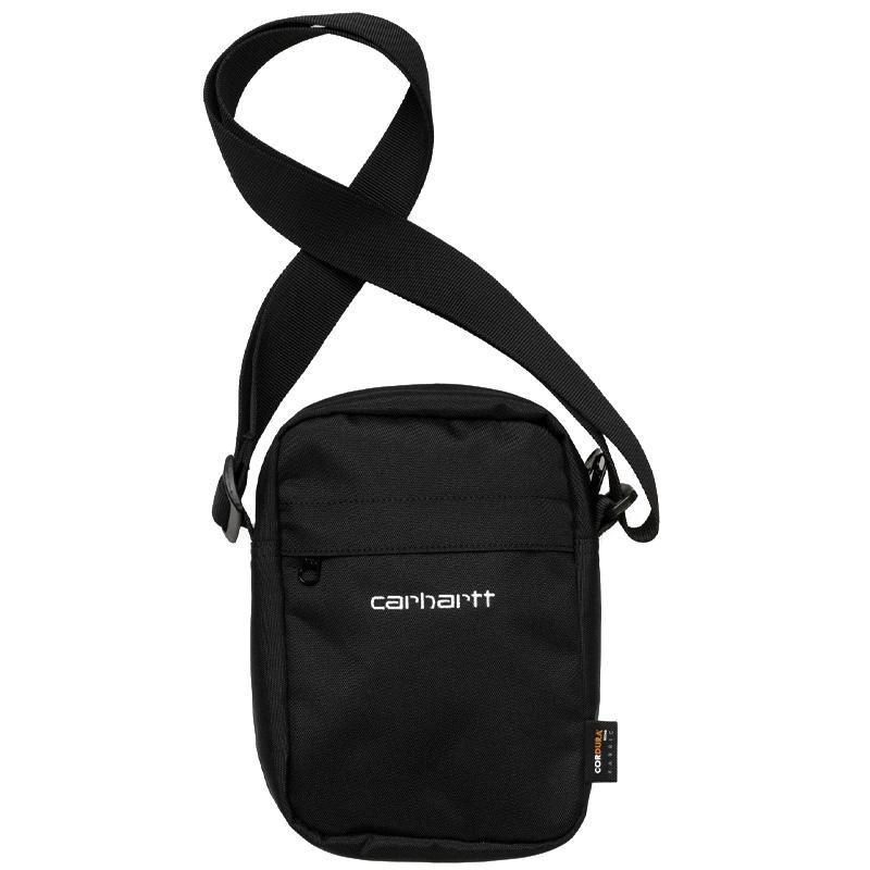 Carhartt WIP Payton Shoulder Pouch Black/White