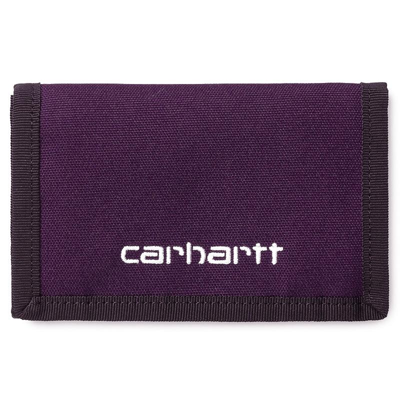 Carhartt WIP Payton Wallet Boysenberry/Black