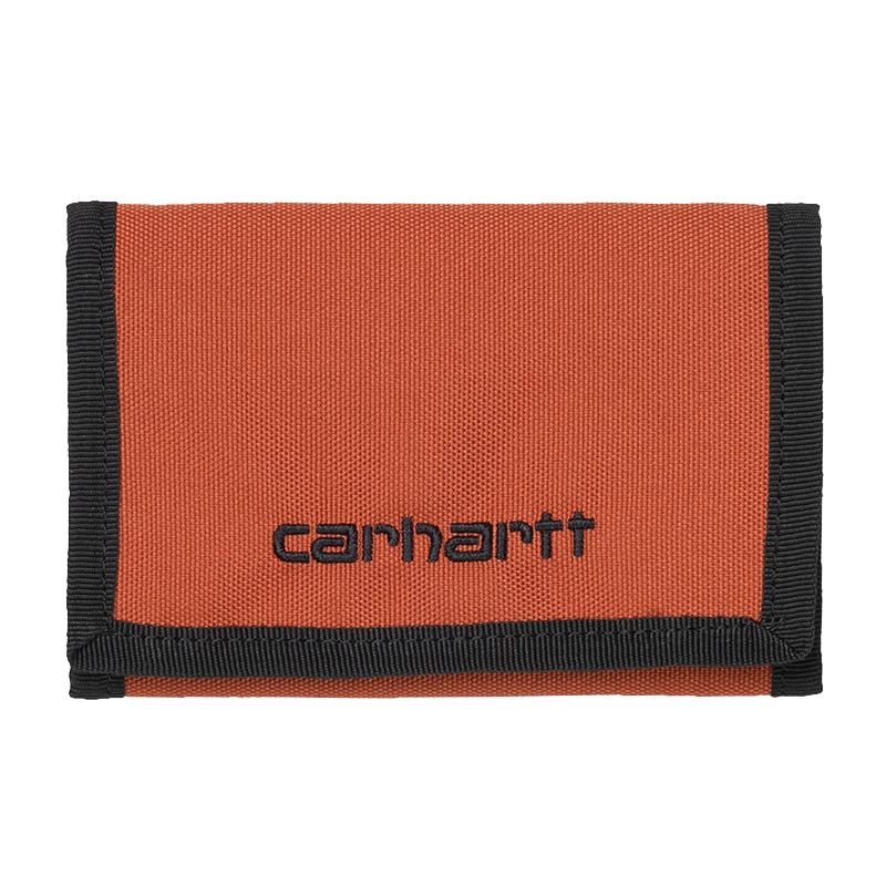 Carhartt WIP Payton Wallet Cinnamon/Black