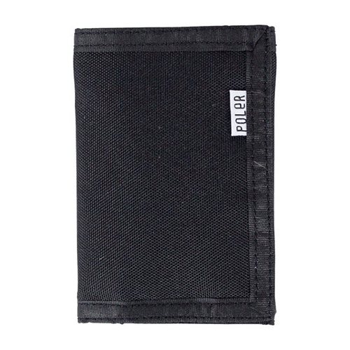 Poler Tri-Fold Wallet Black