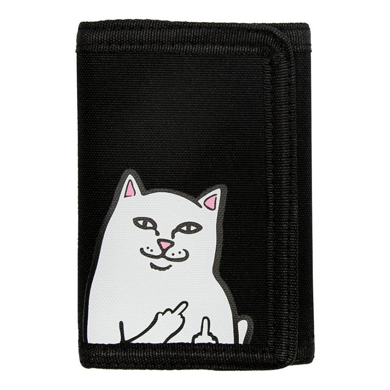 RIPNDIP Lord Nermal Velcro Wallet Black