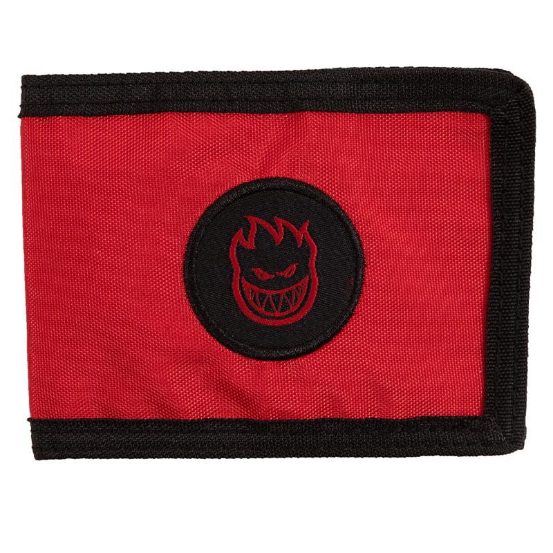 Spitfire Bighead Card Holder Wallet Black/Red