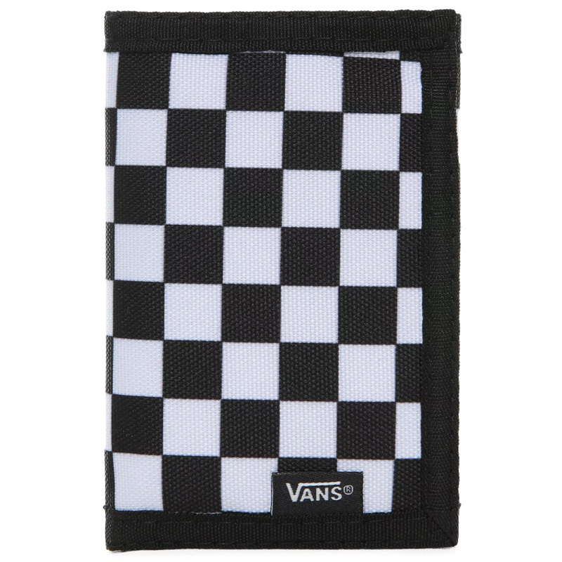 Vans Slipped Wallet Black/White Check