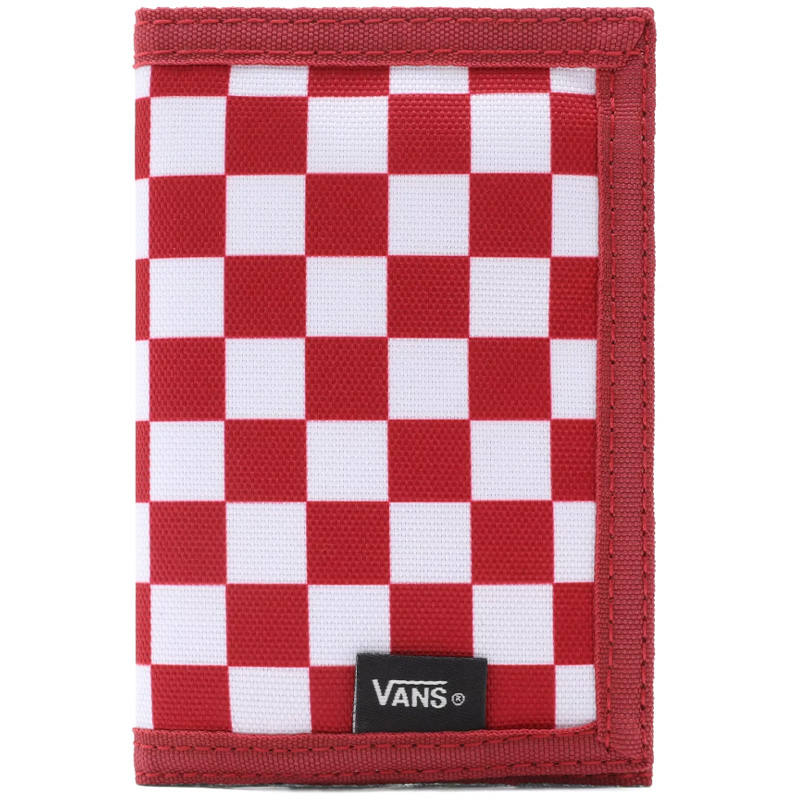 Vans Slipped Wallet Chili Pepper Checkerboard