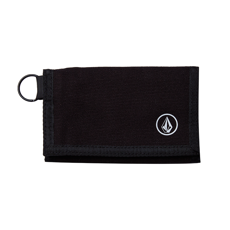 Volcom Full Stone Cloth Wallet Black