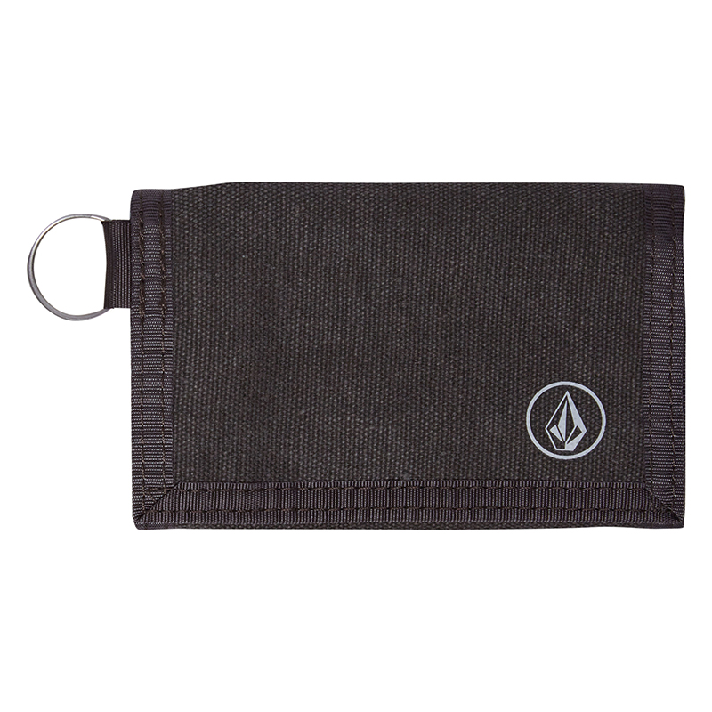 Volcom Full Stone Cloth Wallet Charcoal Heather