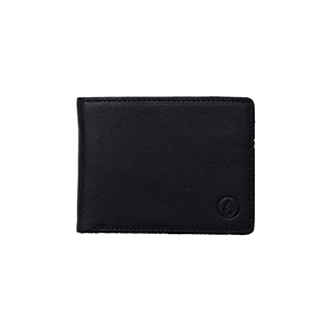 Volcom Volcom Leather Wallet Black