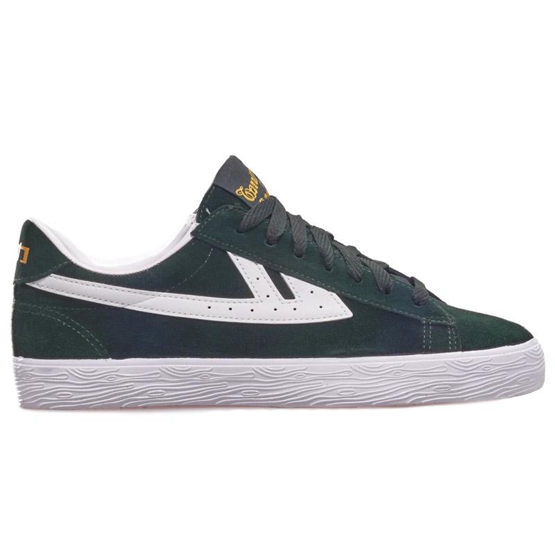 Warrior Shoes Dime Dark Green/White