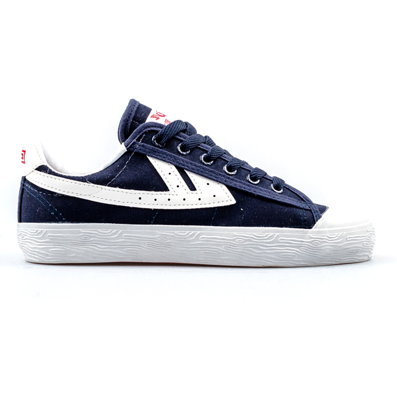 Warrior Shoes WB-01 Navy/White