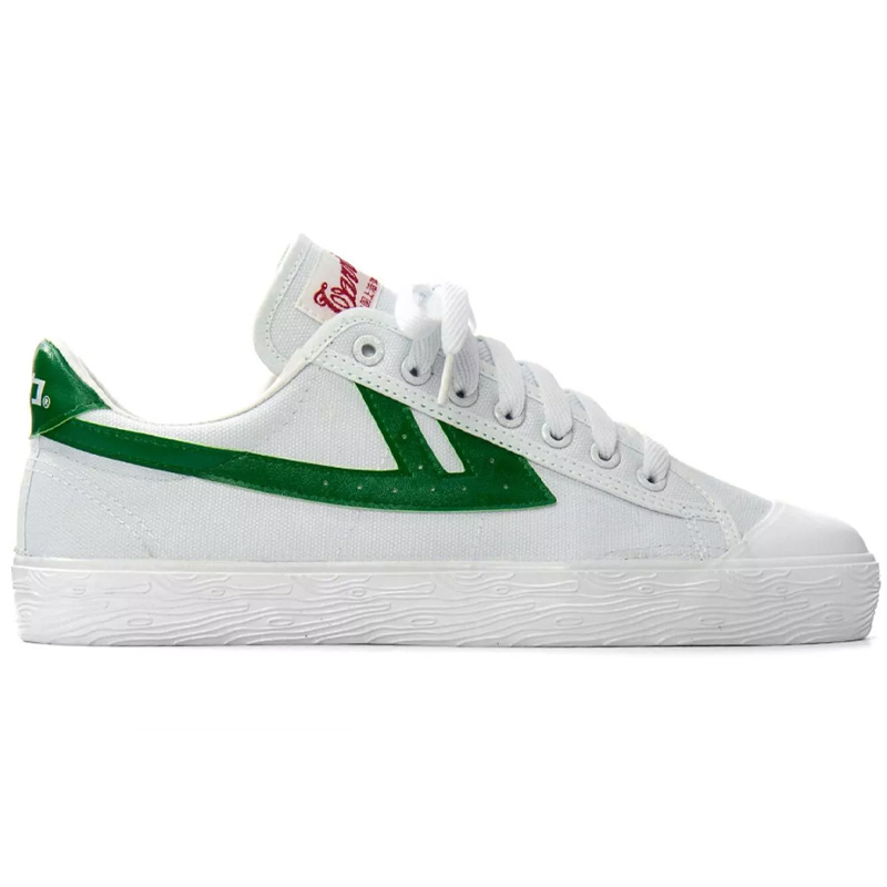 Warrior Shoes WB-01 White/Green