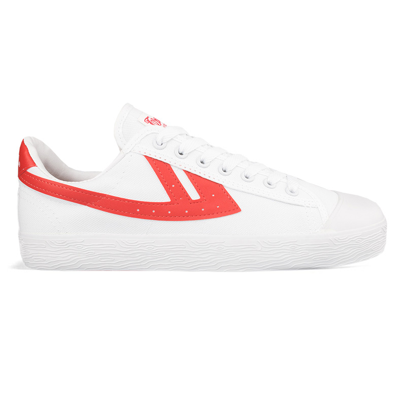 Warrior Shoes WB-01 White/Red