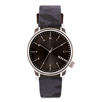 Komono Winston Watch Camo Black