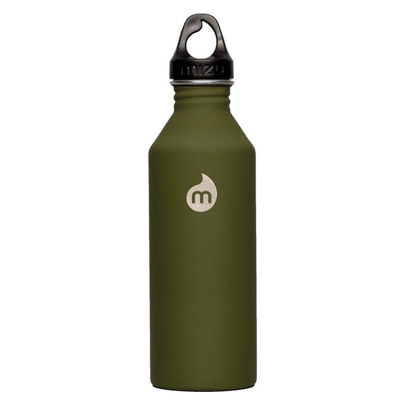 Mizu Waterbottle M5 ST Army Green/Black