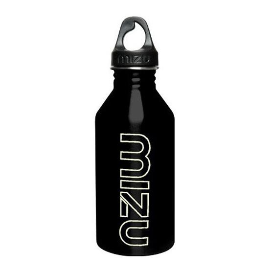 Mizu Waterbottle M6 Glossy Black/GITD