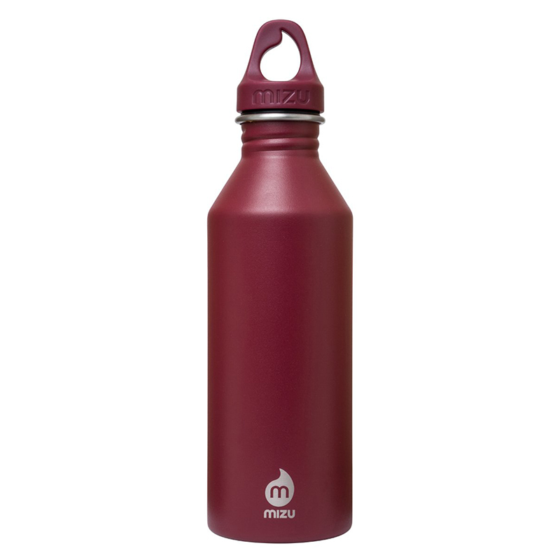 Mizu Waterbottle M8 Enduro Burgundy/Burgundy