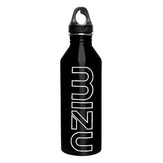 Mizu Waterbottle M8 Glossy Black/GITD