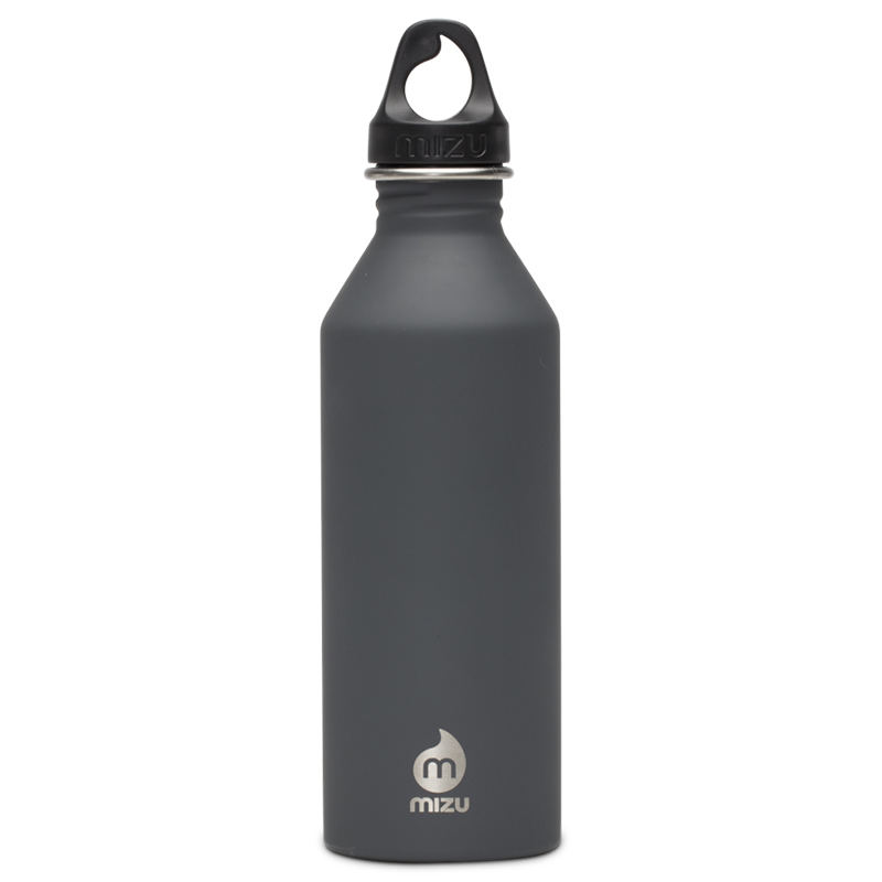 Mizu Waterbottle M8 Grey/Black