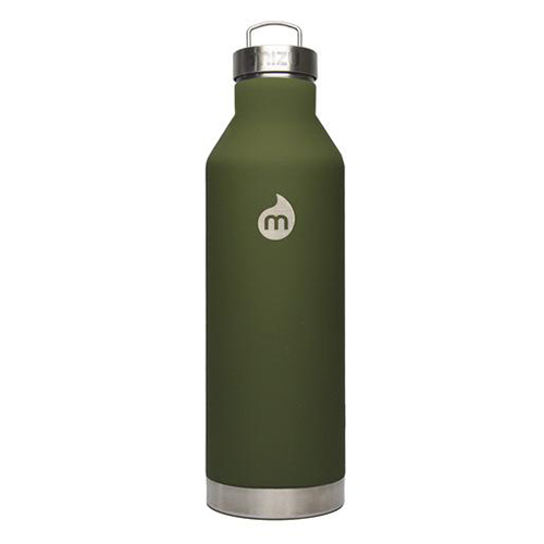 Mizu Waterbottle V8 ST Army SST Cap