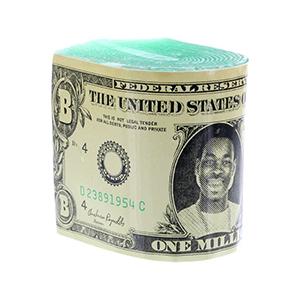 Baker Staples Money Stacks Wax