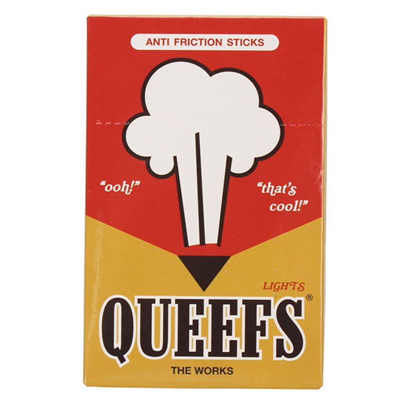 The Works Queefs Cigarette Pack Wax