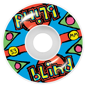 Blind Grail Quest Wheels Multi 53mm