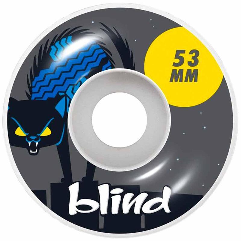 Blind Nine Lives Wheels Grey 53mm