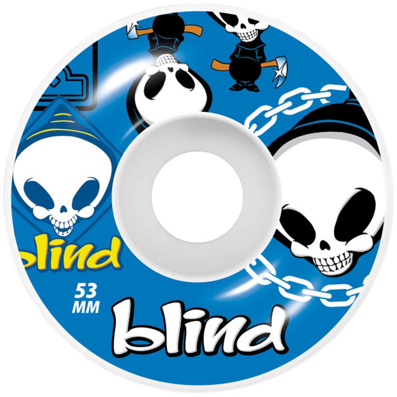 Blind Random Wheels Blue 53mm
