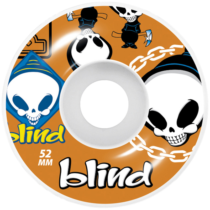 Blind Random Wheels Orange 52mm