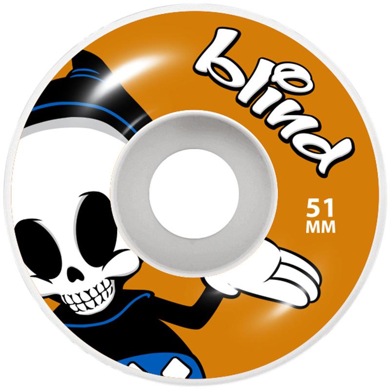 Blind Reaper Character Wheels Orange 51mm