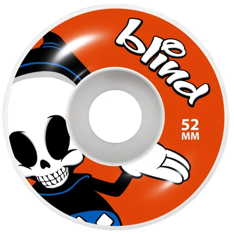 Blind Reaper Character Wheels Red 52mm