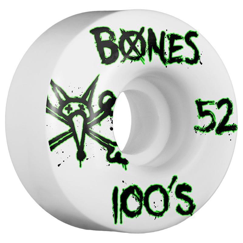 Bones 100's Wheel Natural 100A 52mm