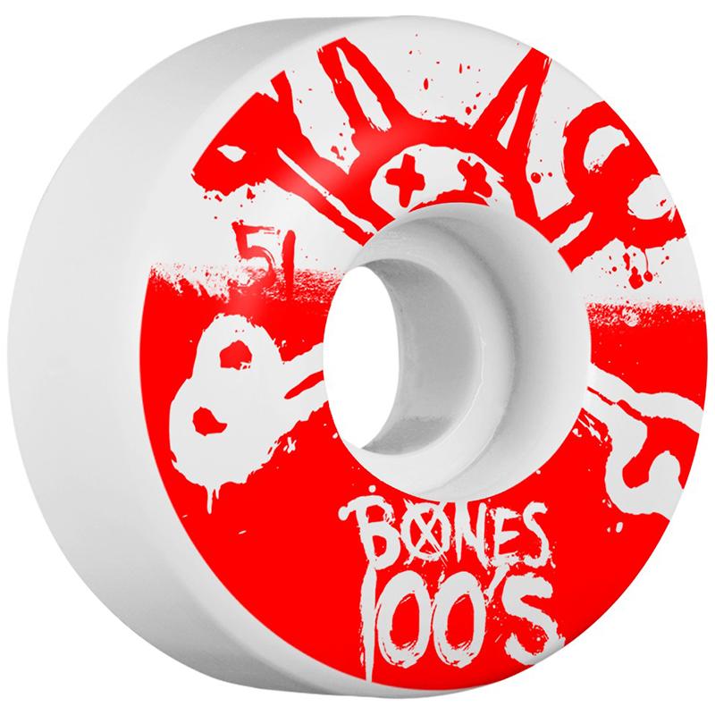 Bones 100s 10 Wheels 51X32 Natural