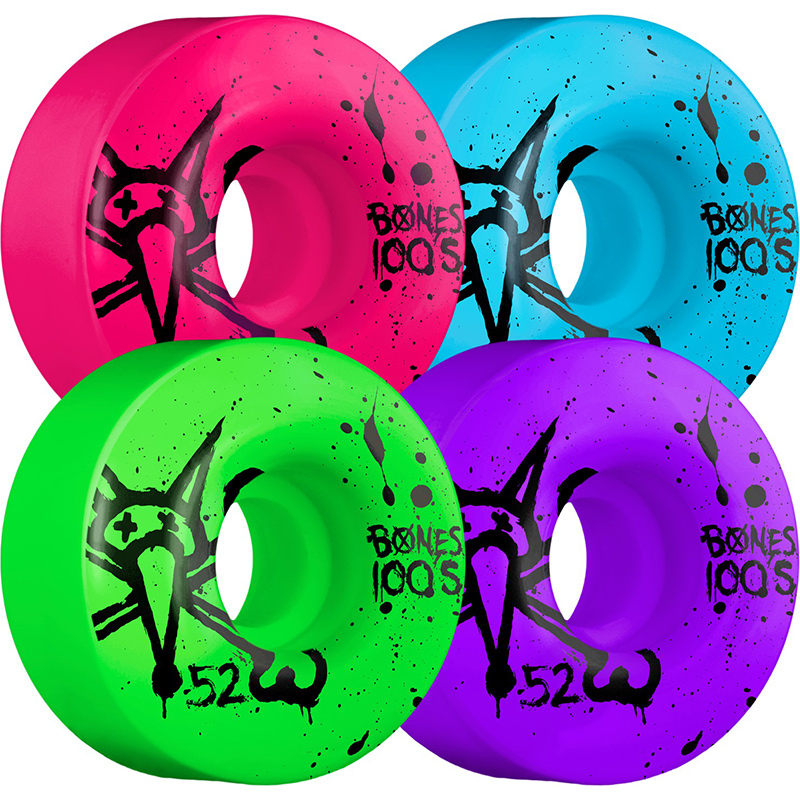 Bones 100's Wheel Party Pack 100A 52mm