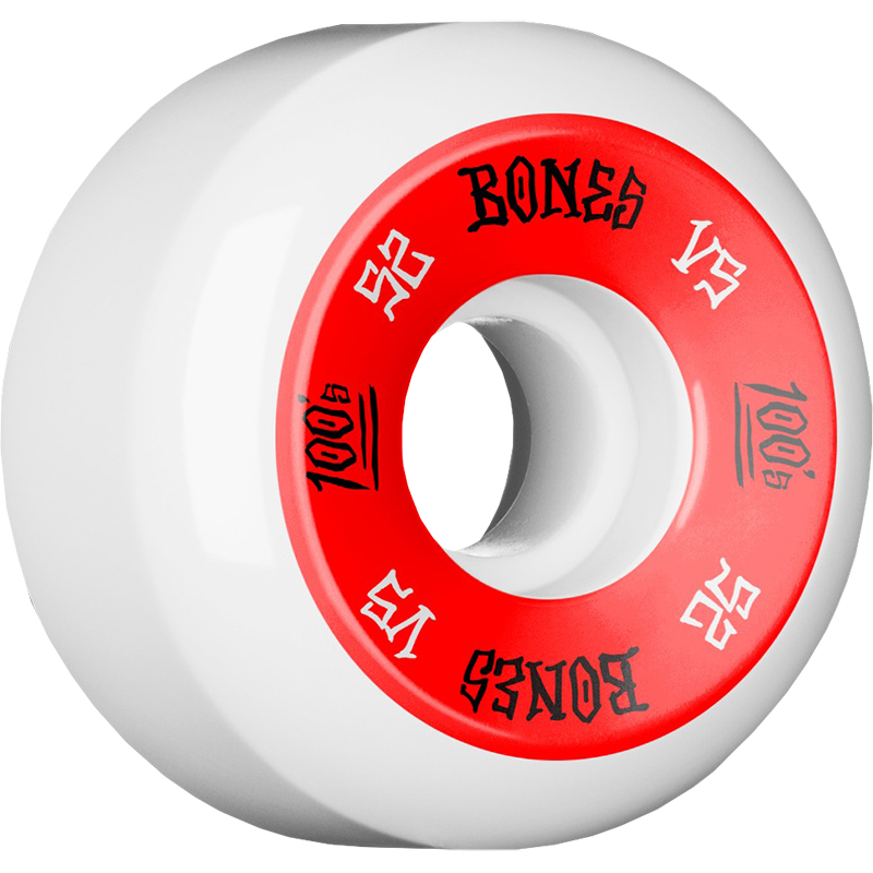 Bones 100's Wheels Natural V5 100A 52mm