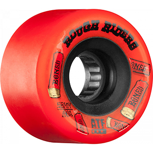 Bones ATF Rough Riders Shotgun Wheel Red 78A 56mm