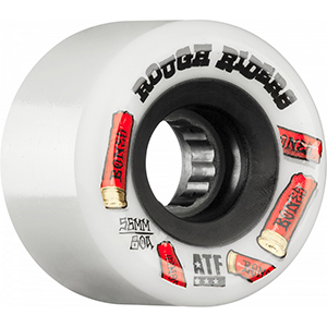 Bones ATF Rough Riders Shotgun Wheel White 78A 56mm