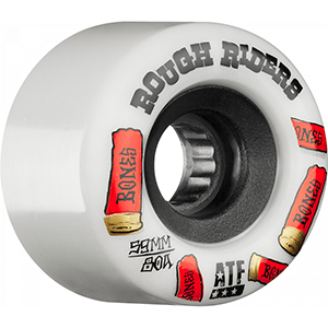 Bones ATF Rough Riders Shotgun Wheel White 78A 59mm