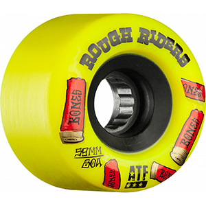 Bones ATF Rough Riders Shotgun Wheel Yellow 78A 59mm