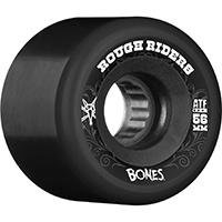 Bones ATF Rough Riders Wheels Black 80A 56mm