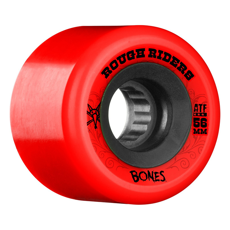 Bones Rough Riders ATF Wheel Red 80A 56mm