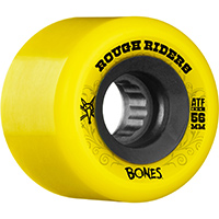 Bones ATF Rough Riders Wheels Yellow 80A 56mm