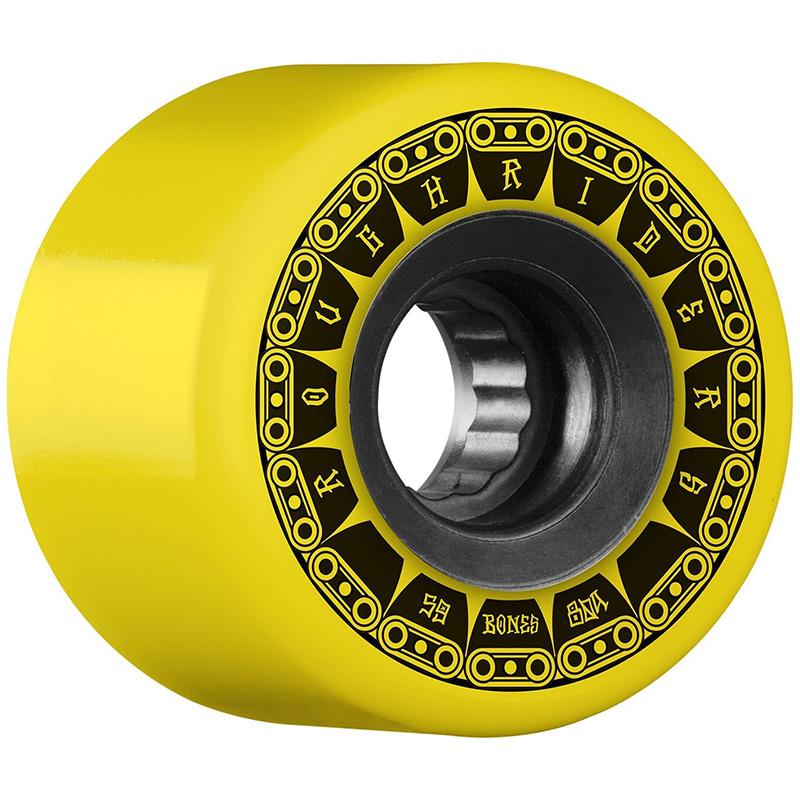 Bones Rough Riders Tank Yellow 80A 59mm