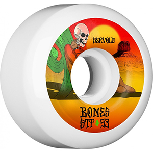 Bones Servold Dry Heat Wheels V5 White 83B 53mm