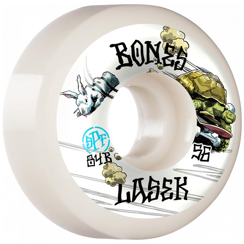 Bones SPF  Lasek Tortoise & Hare Sidecut Wheels P5 104A 56mm