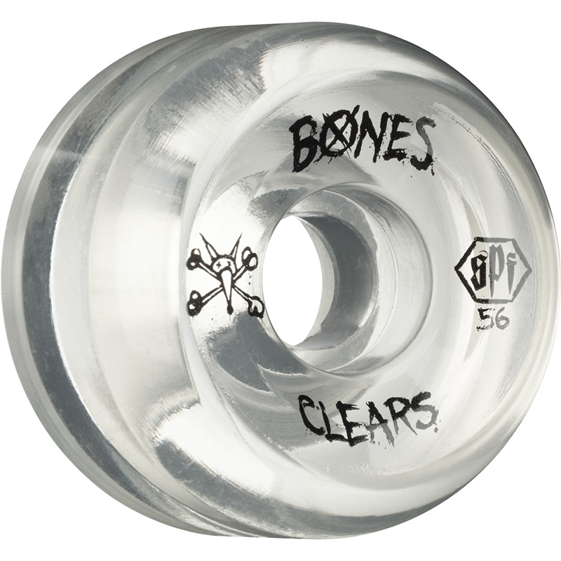Bones SPF Clear Natural Wheel 84B 58mm