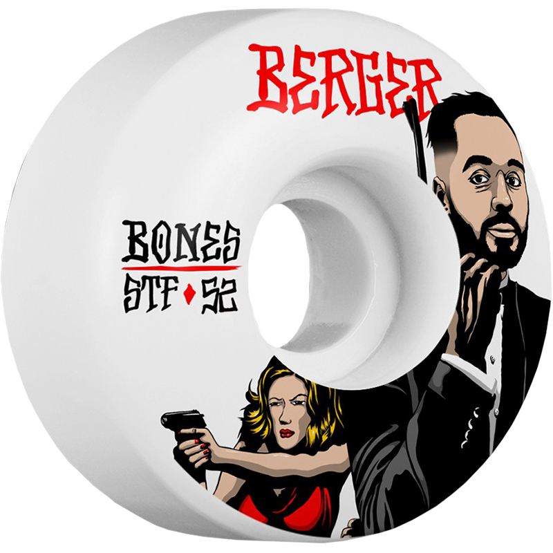Bones STF Berger Spy Wheels V3 83B 52mm