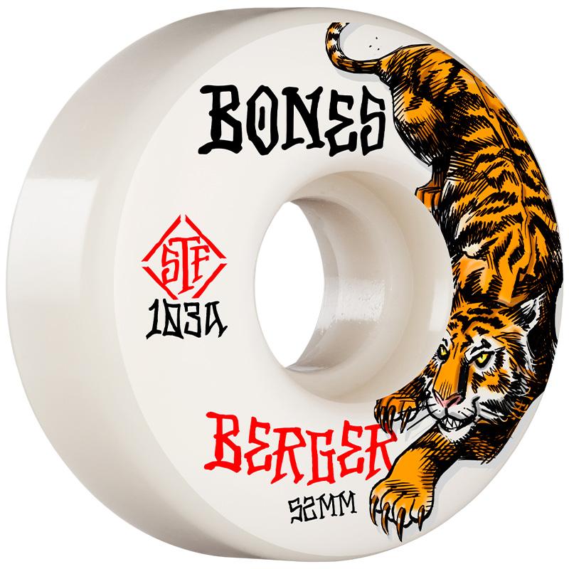 Bones STF Berger The Hunter V3 Slims Wheels 103A 52mm