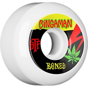Bones STF Bingaman Attitude Wheels V5 103A 53mm