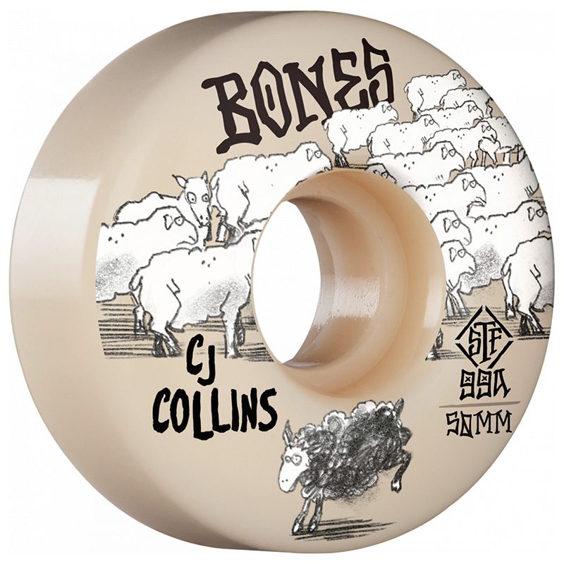 Bones STF Collins Black Sheep Slims Wheels V3 99A 50mm
