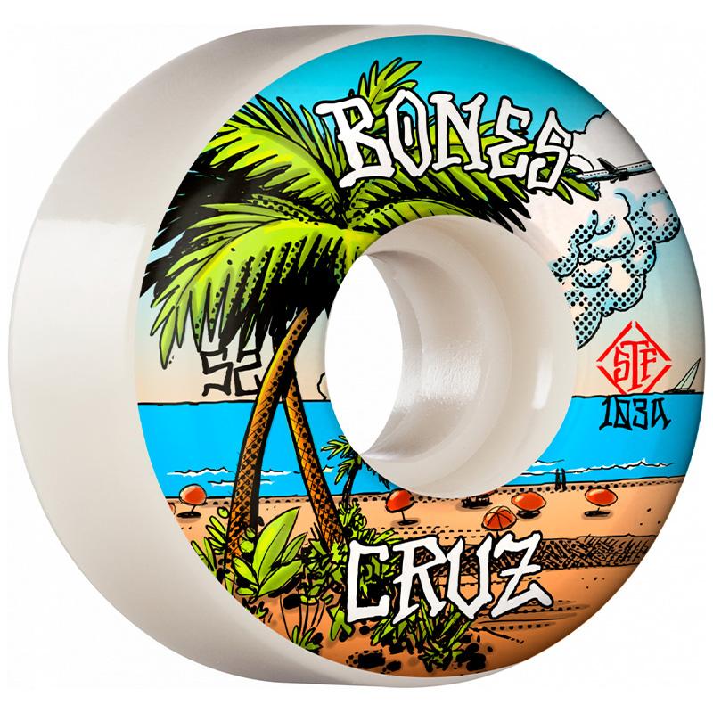 Bones STF Cruz Buena Vida Locks Wheels V2 52mm 103A